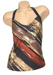 Carol Wior Desert Winds Tankini Top   83281-962-DW