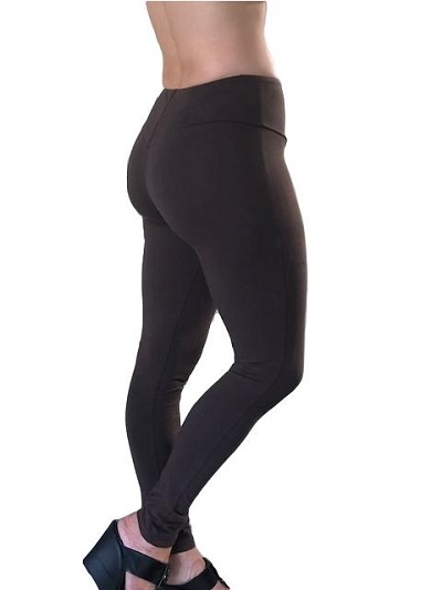 Carol Wior Brown Pant Legging with Control and booty lift N4654N