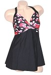 SLIMSUIT by Carol Wior:  French Quarters Twist Front Swimdress A103RD