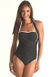 SLIMSUIT by Carol Wior: 4-Way Bandeau Swimsuit  A135