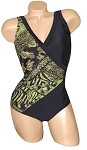 Carol Wior Swimsuit A173_MJ Maharaja Side Drape with Tummy Control