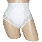 Set of 2 Smooth Control Microfiber Panty with Lace by Carol Wior 236011