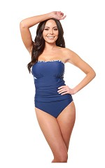 Carol Wior 4 Way Bandeau Swimsuit 1903