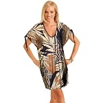 Carol Wior Copacabana Open Tie Sleeve Top 3769-962