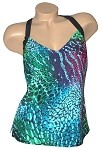 Niki Bridges Ocean Reef Tankini Top   3727/NB501-960