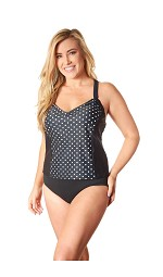 Carol Wior Tankini Top 3727P-CR