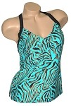 Carol Wior Dangerous When Wet Tankini Top   N3727-T-Wet